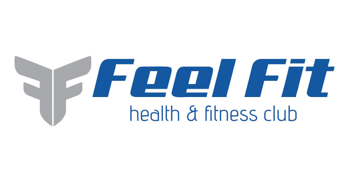 Feel Fit Health and Fitness Club Logo